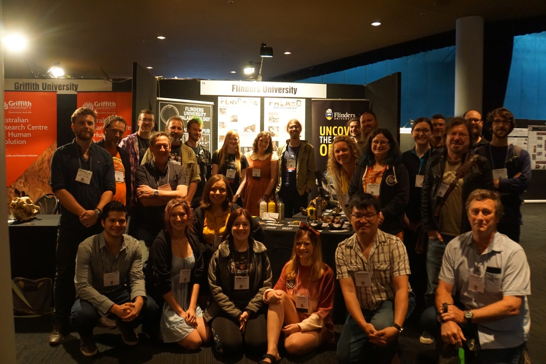 Flinders Palaeo lab at SVP 2019
